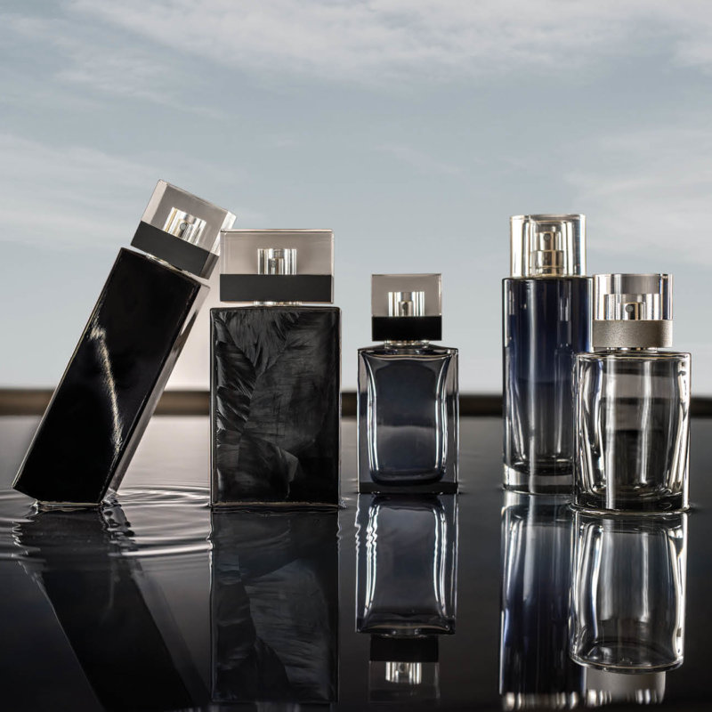 Selection of premium perfumery products which are part of the Private Collection