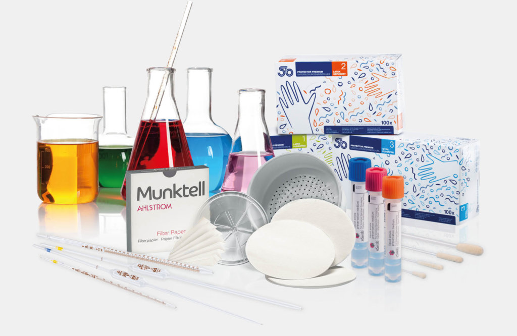 Product range of our Business Unit medical and laboratory