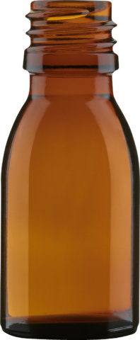 Product picture of dropper bottle amber 10 ml - article number 35021