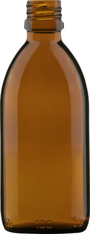 Product picture of medicine bottle amber 100 ml - article number 35028