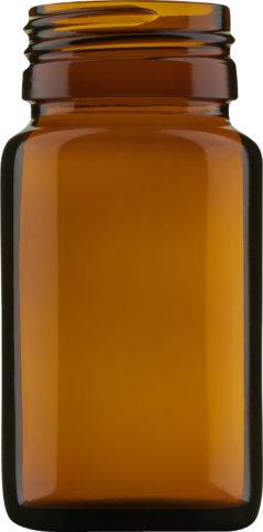 Produktbild des Tablettenglas braun 60 ml - Artikelnummer 69026