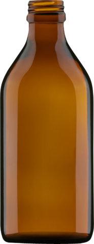 Produktbild der Medizinflasche braun 150 ml - Artikelnummer 69035