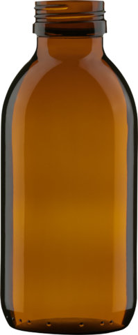 Product picture of syrup bottle amber 250 ml - article number 69121
