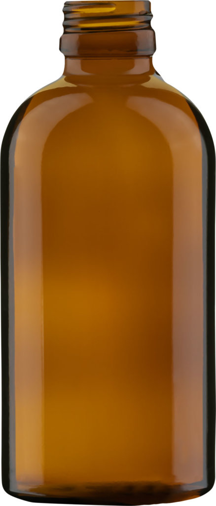 Product picture of medicine bottle amber 200 ml - article number 72365