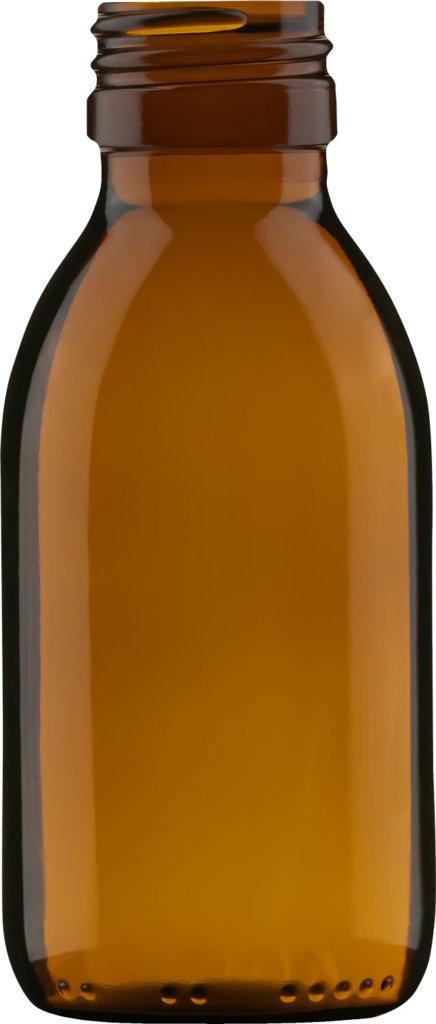 Produktbild der Sirupflasche braun 100 ml - Artikelnummer 72434