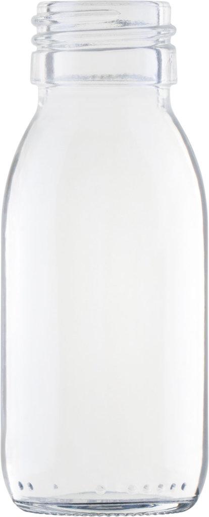 Produktbild der Sirupflasche weiß 60 ml - Artikelnummer 72434