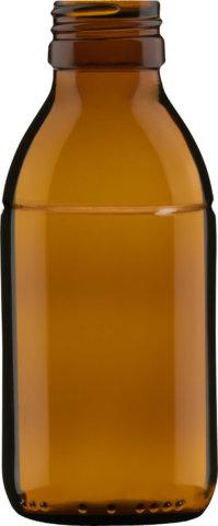 Produktbild der Sirupflasche braun 125 ml - Artikelnummer 72434