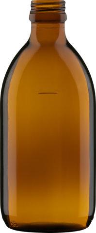 Produktbild der Sirupflasche braun 300 ml - Artikelnummer 72434