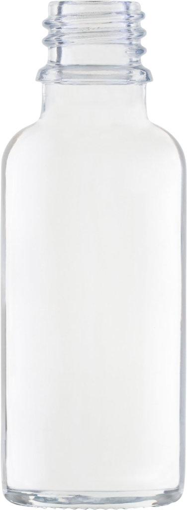 Produktbild der Tropfflasche weiß 30 ml - Artikelnummer 72448