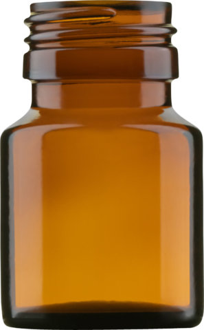 Product picture of pill bottle amber 30 ml - article number 72501