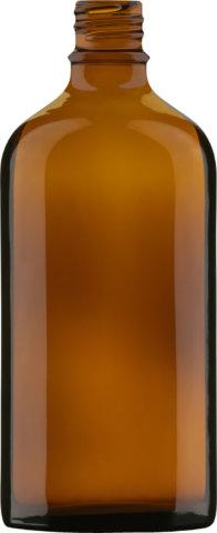 Produktbild der Tropfflasche braun 100 ml - Artikelnummer 72722