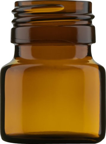 Product picture of pill bottle amber 25 ml - article number 72754