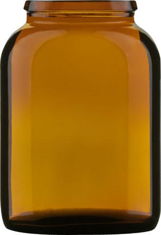 Produktbild des Tablettenglas braun 80 ml - Artikelnummer 72828