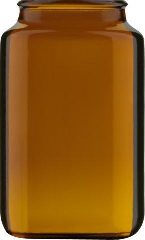 Produktbild des Tablettenglas braun 125 ml - Artikelnummer 72918