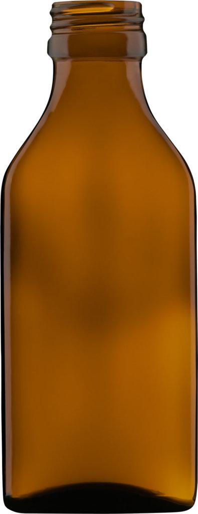 Produktbild der Formflasche braun 100 ml - Artikelnummer 73566