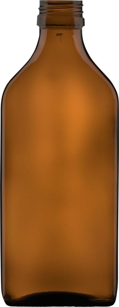 Produktbild der Formflasche braun 200 ml - Artikelnummer 73566