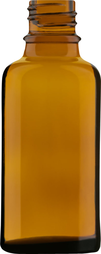 Product picture of dropper bottle amber 30 ml - article number 73855