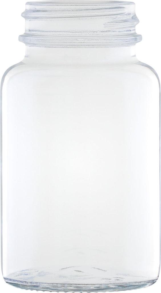 Produktbild des Weithalsglas weiß 1.00 ml - Artikelnummer 74024