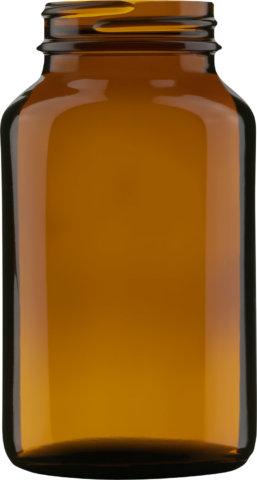 Produktbild des Weithalsglas braun 200 ml - Artikelnummer 74024