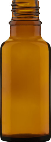 Product picture of dropper bottle amber 20 ml - article number 74226