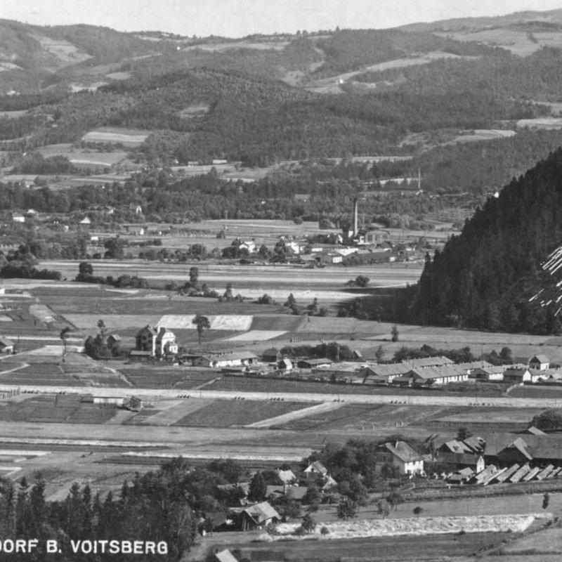 Historic picture of plant Oberdorf in Austria