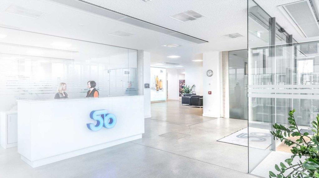 Receiption at headquarter in Austria
